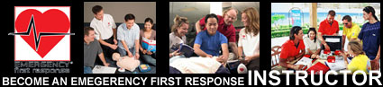 become an emergency first response instructor, teach cpr and first aid courses