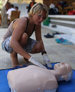 cpr first aid for aldult