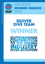 Outstanding Contribution to the Diving Industry &#8211; Diver Retention></p>