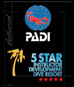 PADI 5 Star Instructor Development IDC Dive Resort